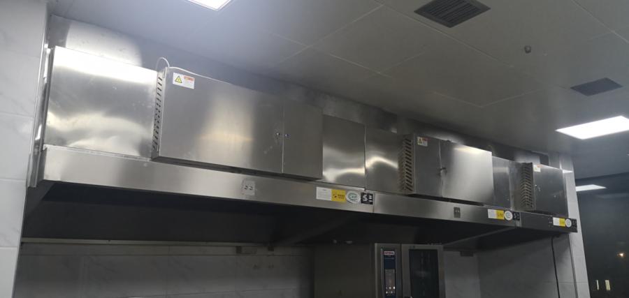 太阳谷第一业主食堂,油烟净化器